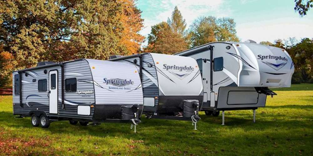 New Campers as low as $13,995